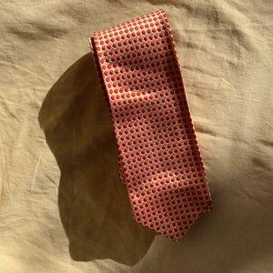 Vintage 40s/50s Polka Dot Silk Tie